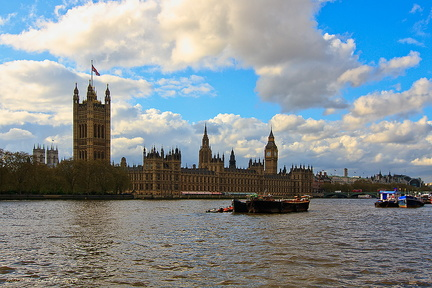 Palace of Westminster - Westminster-Palast - Houses of Parliament